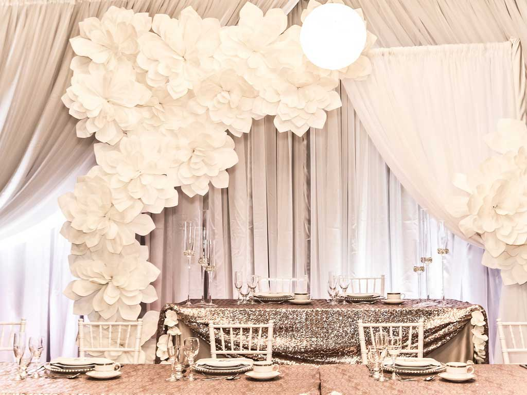 Backdrops, plants & décor rentals in Edmonton Alberta