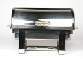Rental store for CHAFING DISH RECT FANCY ROLL TOP in Edmonton AB