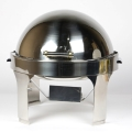 Rental store for CHAFING DISH ROUND FANCY ROLL TOP in Edmonton AB
