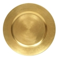 Rental store for CHARGER PLATE ANTIQUE GOLD ACRYLIC 13 in Edmonton AB