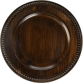 Rental store for CHARGER PLATE RUSTIC BROWN ROUND 14 in Edmonton AB