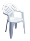 Rental store for PATIO CHAIR WHITE PLASTIC  N in Edmonton AB