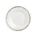 Rental store for GOLD FLEUR TRIM DINNER PLATE 10.75 in Edmonton AB
