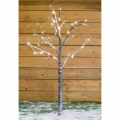 Rental store for BIRCH TWIG BROWN SNOW TREE LED  6.7 H in Edmonton AB
