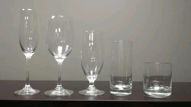 Rent Glassware Crystal